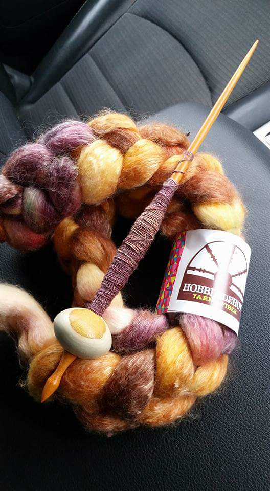 Yes, yes I really do match my fiber to my spindles...