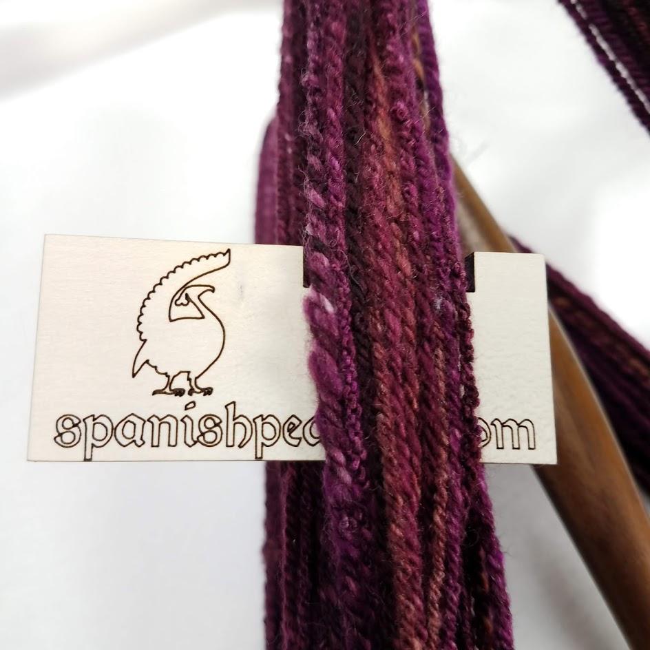 Chunky, overspun yarn!