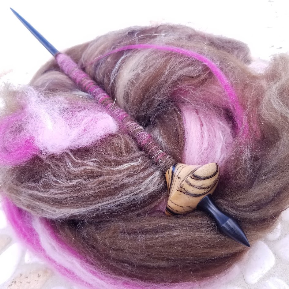 This Bead Spindle Looks Gorgeous No Matter Which Fiber I Spin!