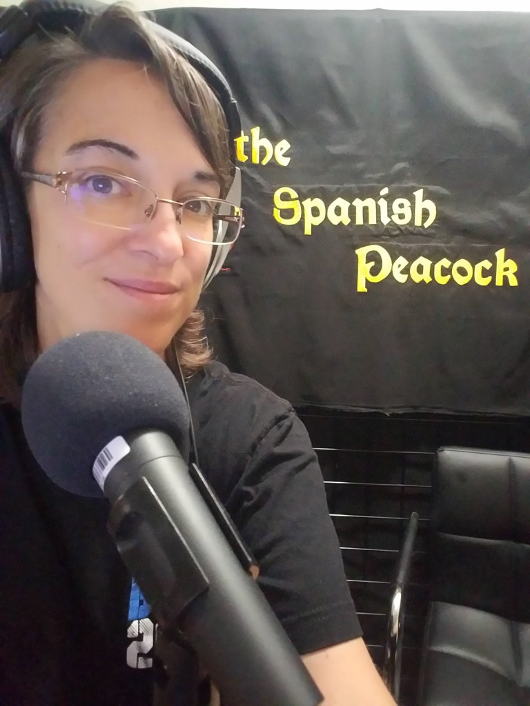 A selfie taken while recording this podcast ... I am grateful I don't have to earn a living from selfies!