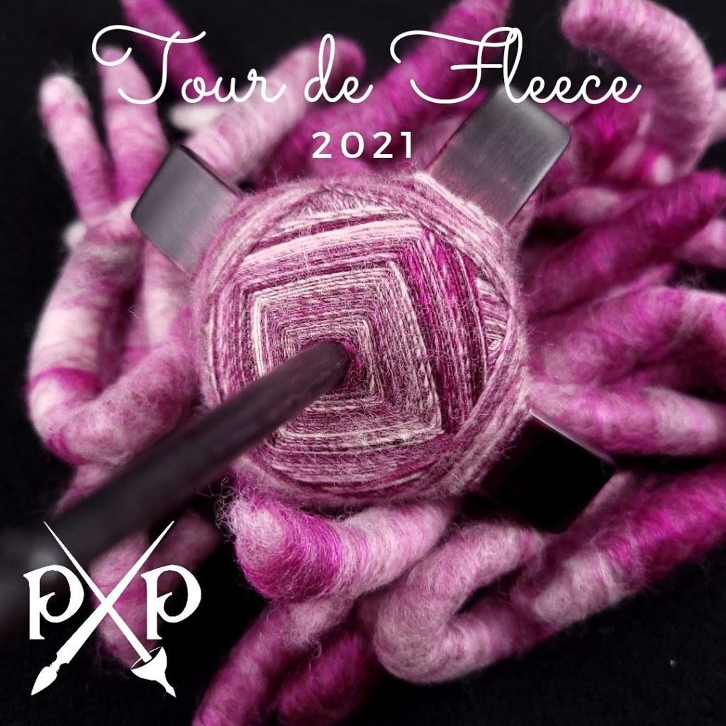 Tour de Fleece 2021 WIP #2